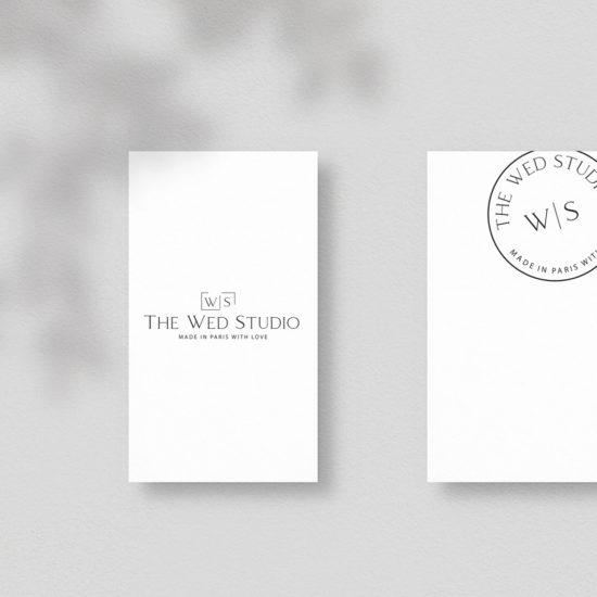 logotype the wed studio Chic Studio