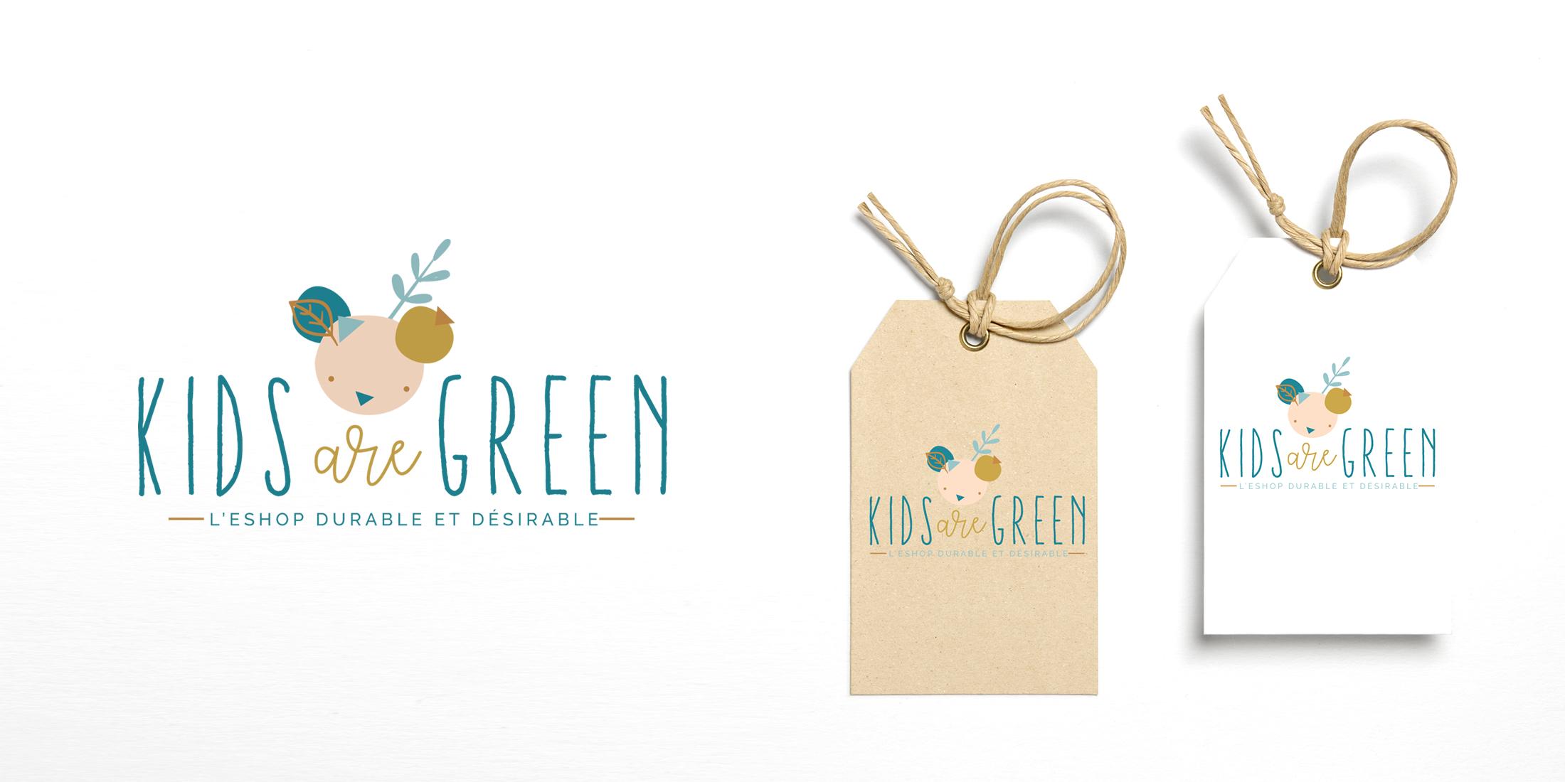 Kids are green Chic studio