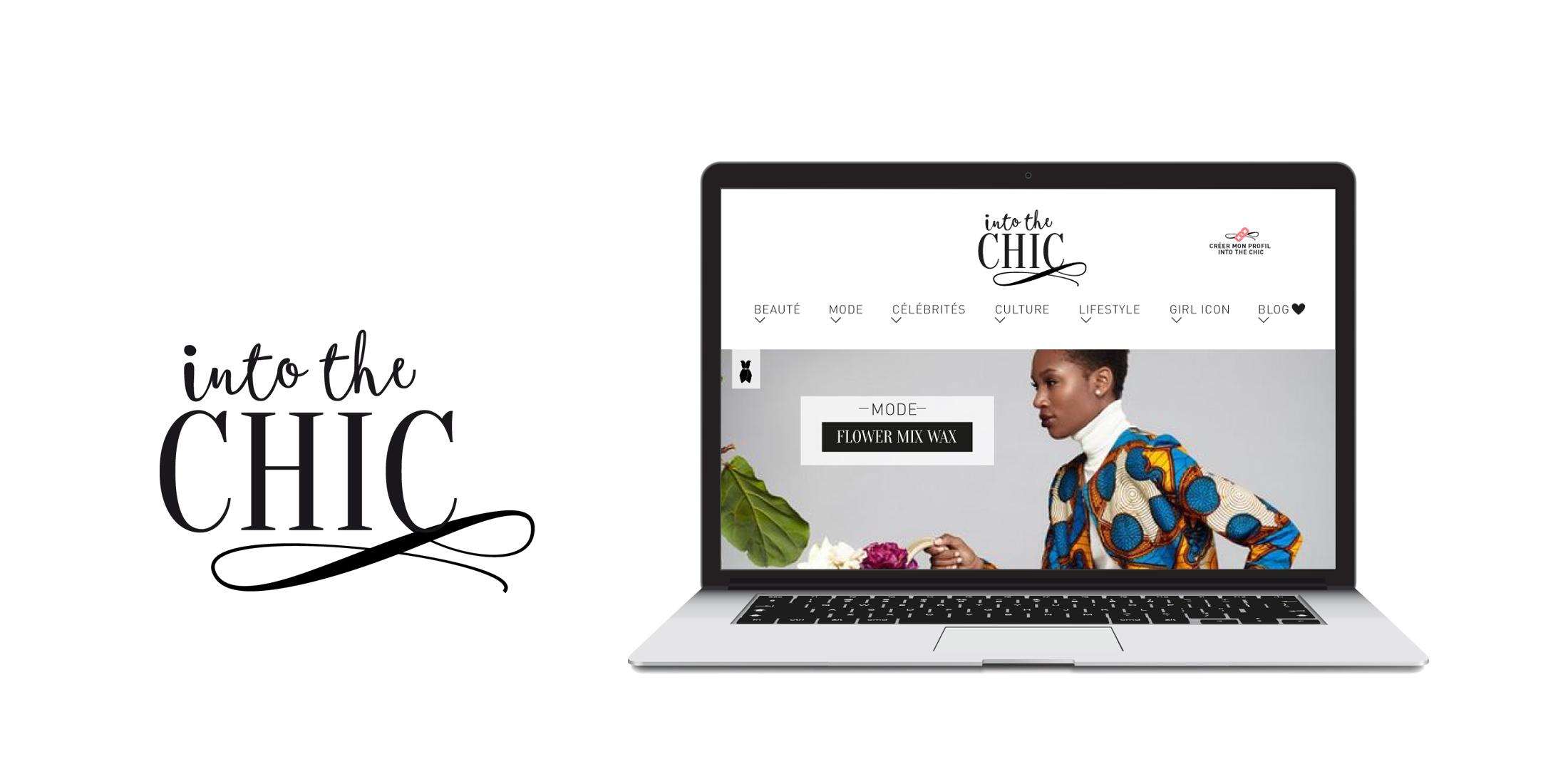 jeune Afrique branding Into the chic Chic studio