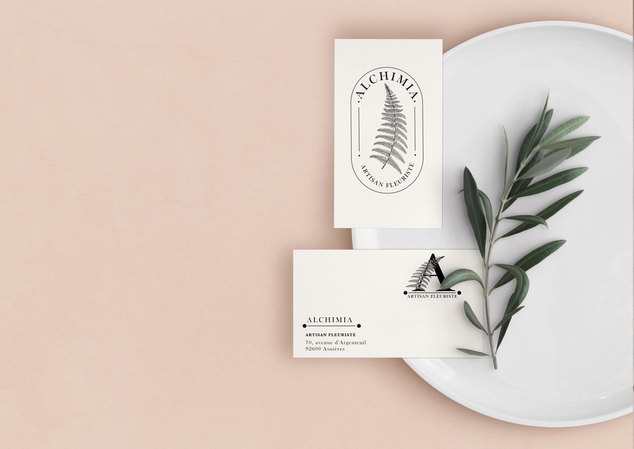Branding marque alchimia Chic Studio