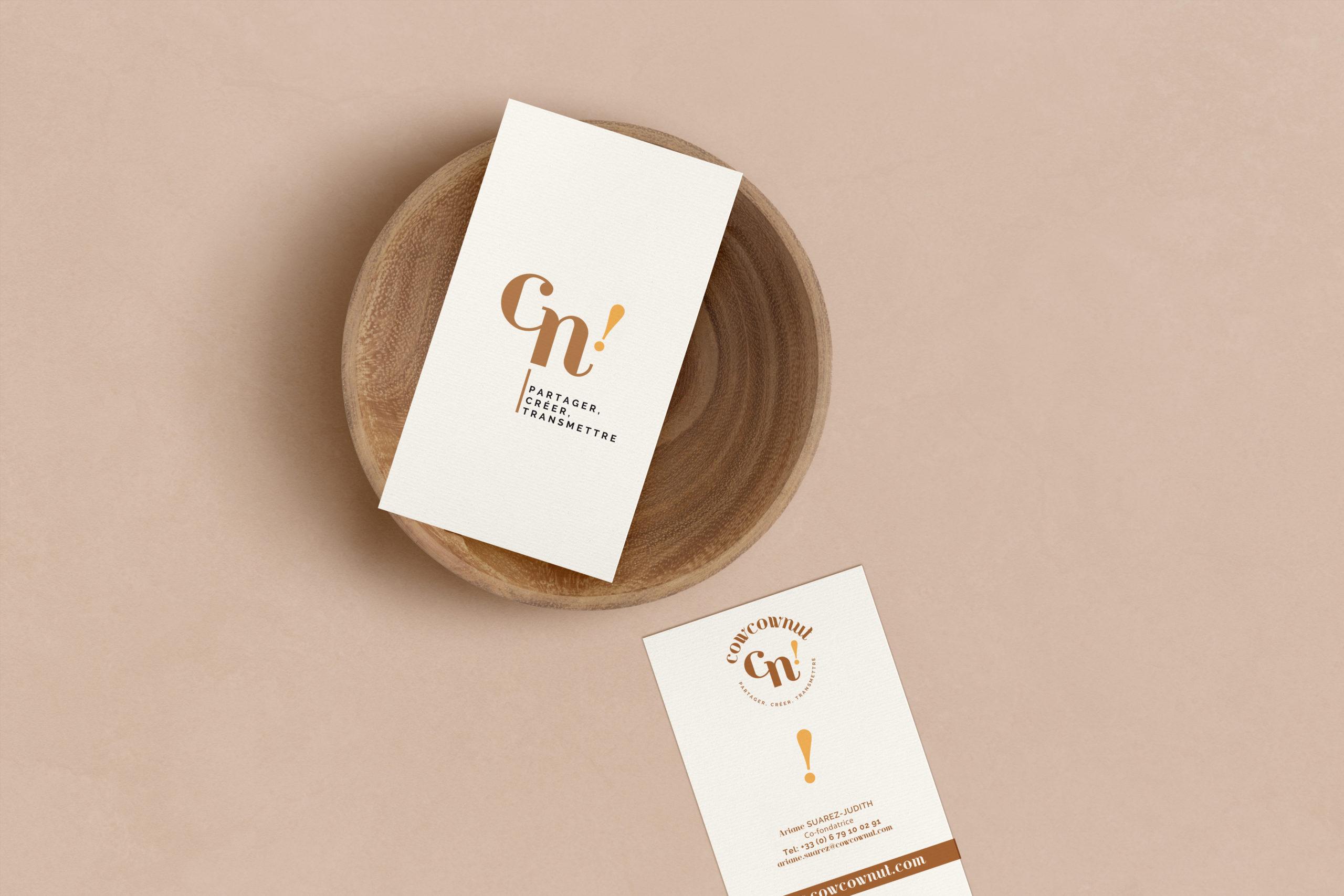 Branding marque cowcownut Chic Studio