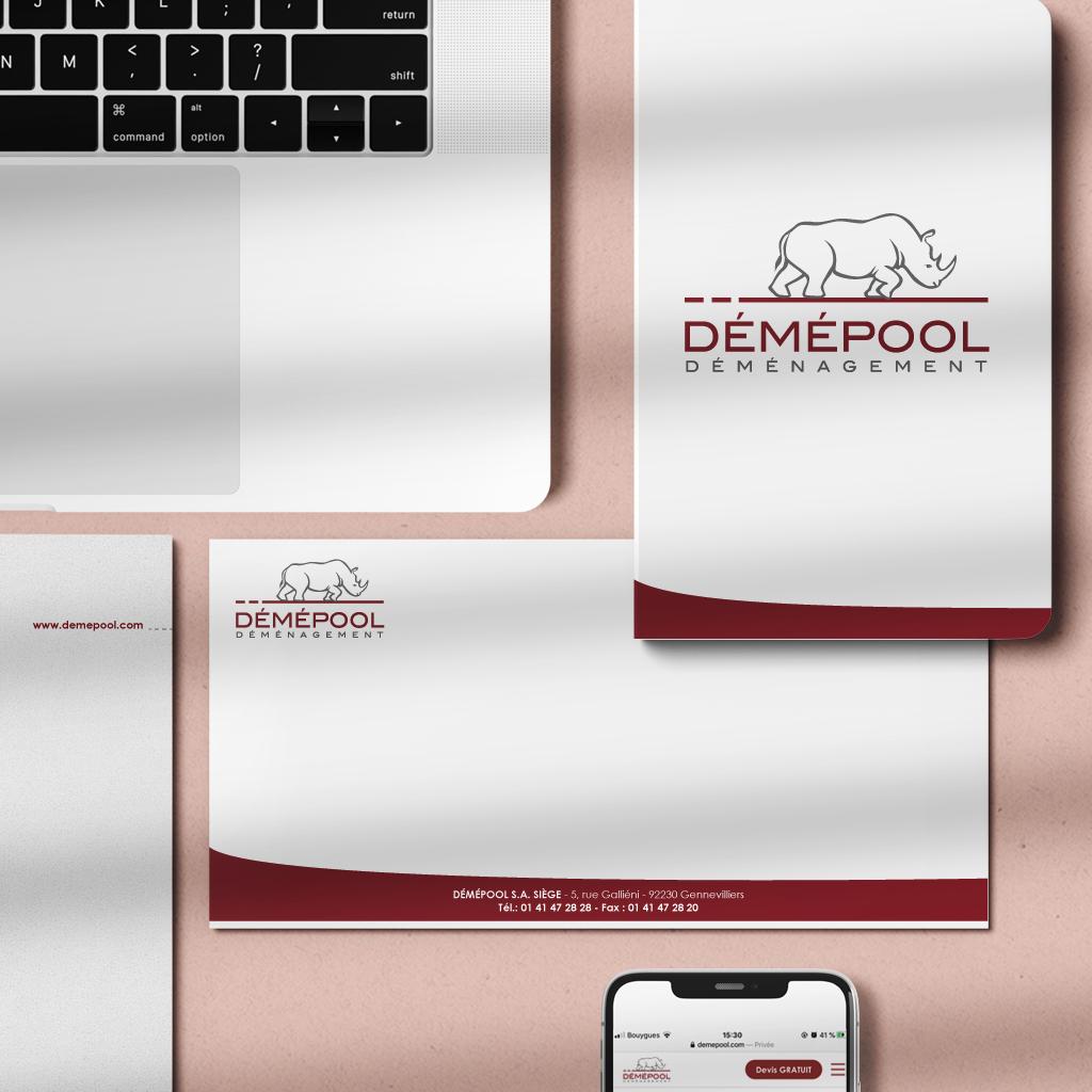 Branding marque Demepool Chic Studio