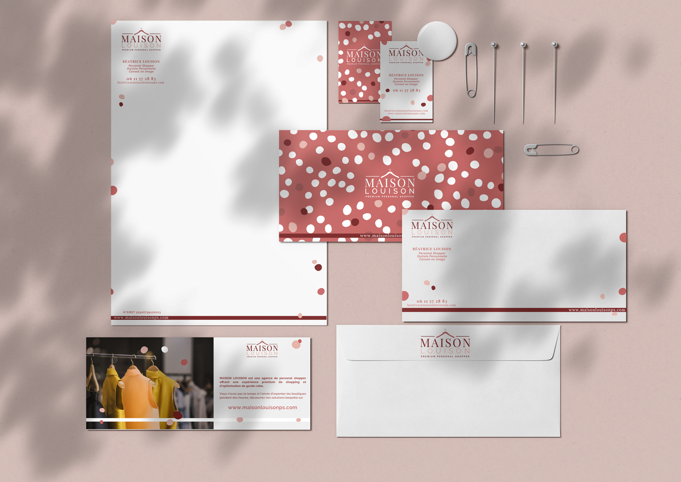 Branding marque maison louison Chic Studio