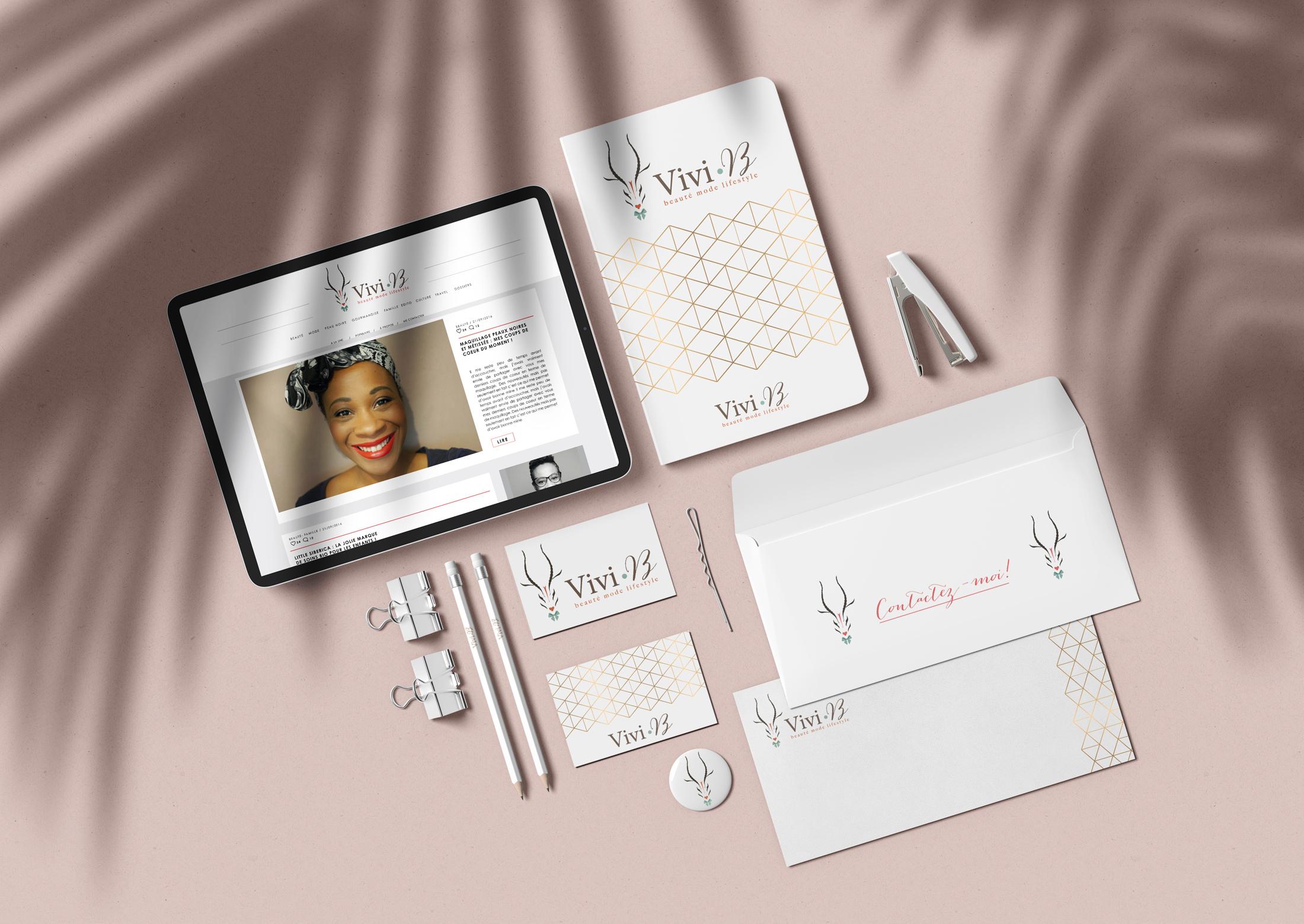 branding Vivi b Chic Studio