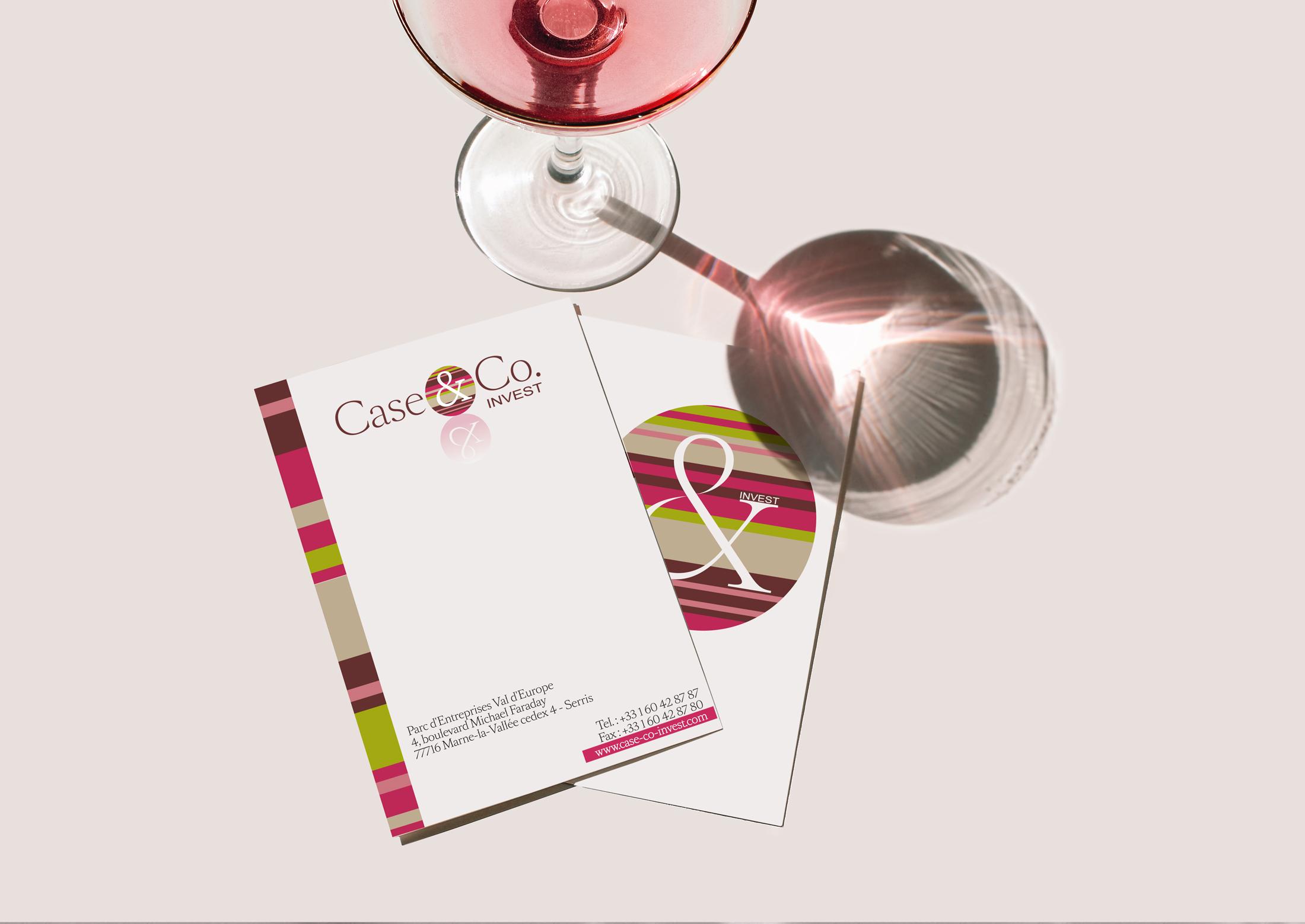 identite visuelle case and co Chic Studio