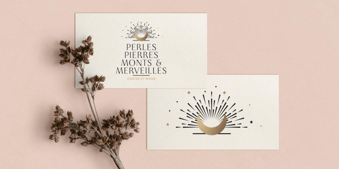 logotype perles mont et merveilles Chic Studio