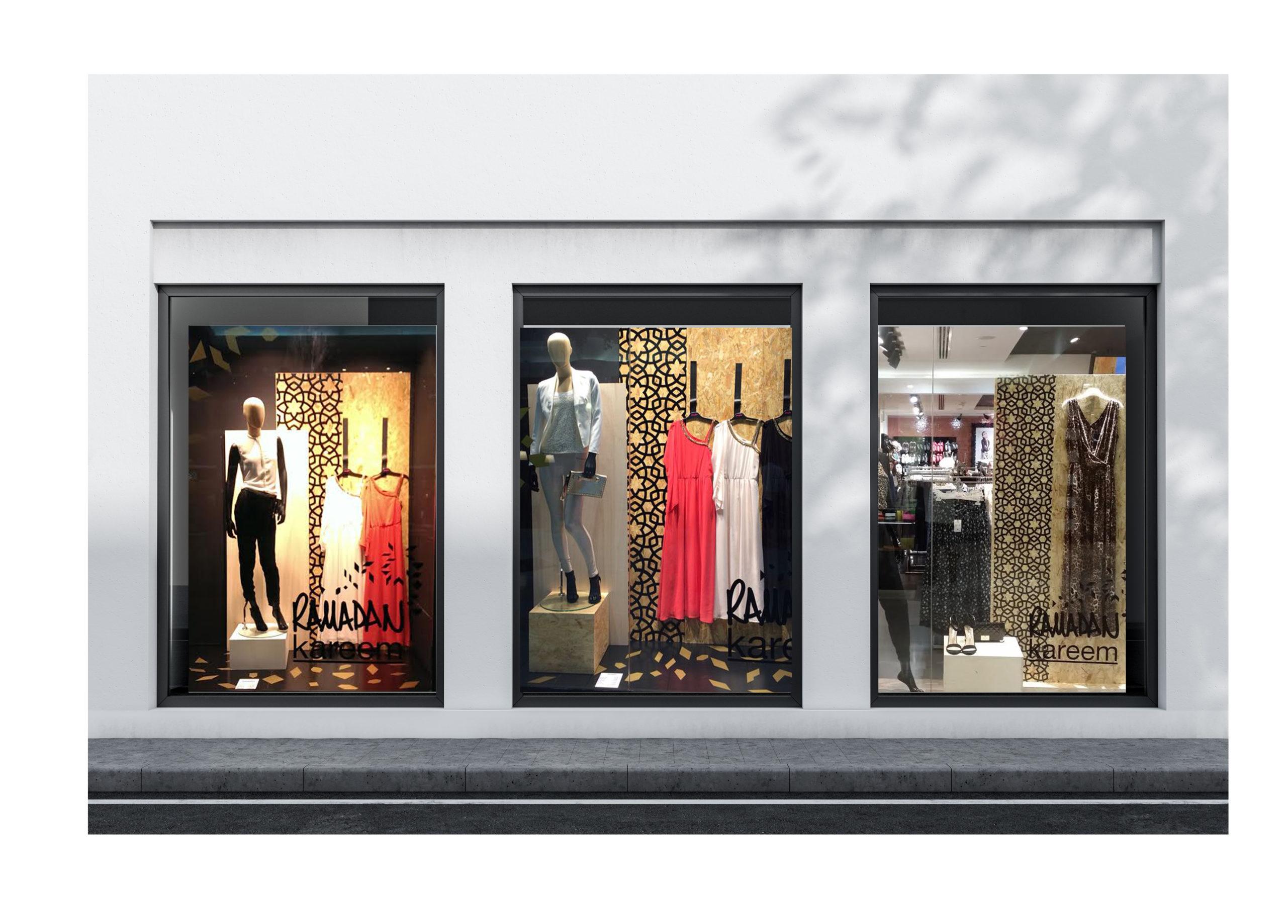 merchandising vitrine jennyfer ramadan Chic Studio